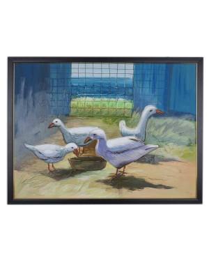 Duck Mud Painting RK183