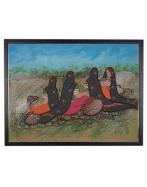 Kutch Culture Mud Painting RK186
