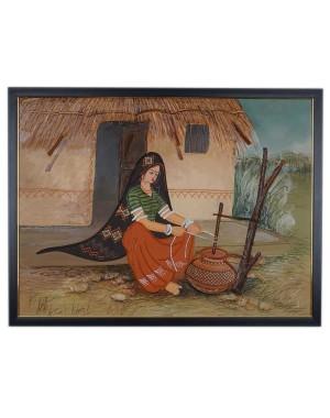 Kutch Culture Mud Painting RK187
