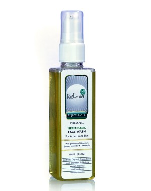 Rustic Art Neem Basil Face Wash RA35