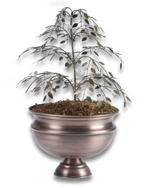 Goyal India Planter With Metal Tree GI88
