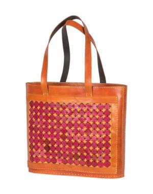 Megha Arts & Crafts Pure Leather Bag MAC41