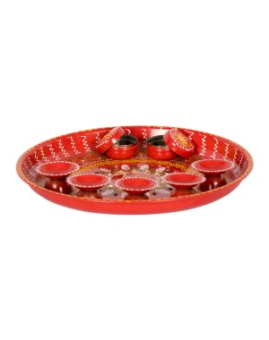 Shree Collection Aarti Dish SC25