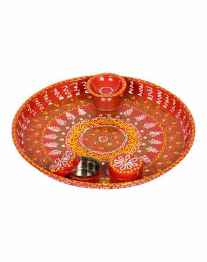 Shree Collection Pooja And Rakhi Dish SC34