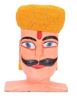 Rajasthani Single Color Laheriya Safa MS33