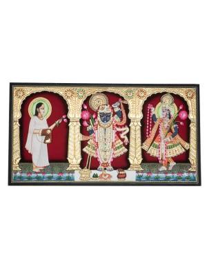 Teen Nidhiji Rajbhog Mangal Shrinathji KS29