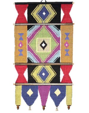 Handloom Cotton Wall Hanging 427 A