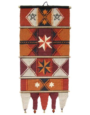 Handloom Cotton Wall Hanging 533 A Br