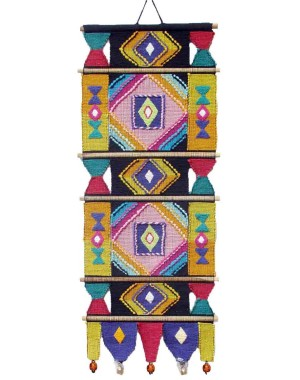 Handloom Cotton Wall Hanging 427 B