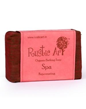 Rustic Art Organic Spa Soap RA03 (Pack of 2)