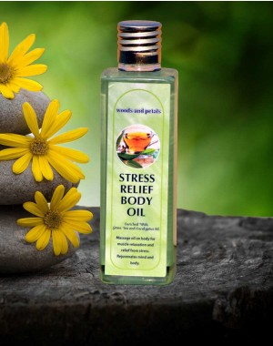 Woods And Petals Stress Relief body oil WP49