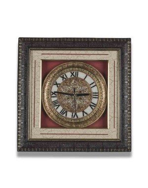 Round Shape Marble Wall Clock AAG10