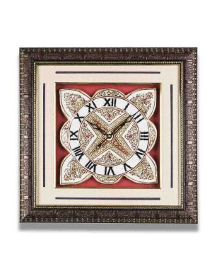 Flower Shape Marble Wall Clock AAG13