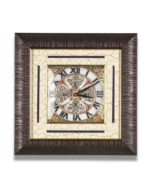 Square Shape Marble Wall Clock AAG16