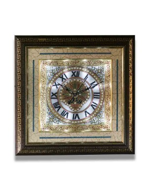 Square Shape Marble Wall Clock AAG38