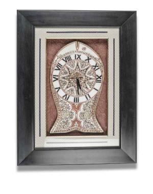 Fish Shape Marble Wall Clock AAG05