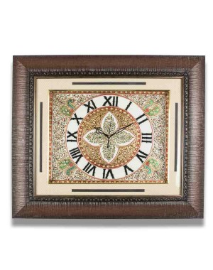 Rectangular Shape Marble Wall Clock AAG06