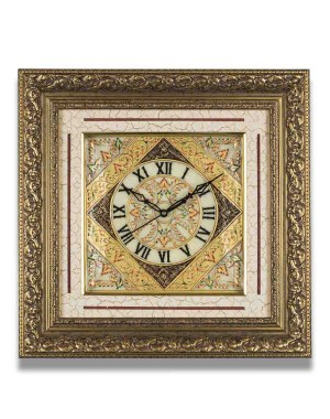 Square Shape Marble Wall Clock AAG09