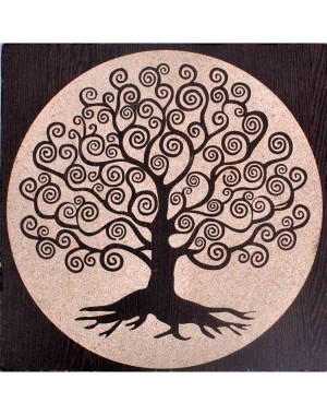 Decorative Tree Cellular Wall Hanging GS124