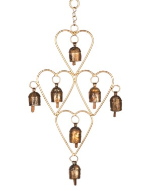 Megha Arts & Crafts Copper Wind Chime MAC172
