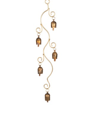 Megha Arts & Crafts Copper Wind Chime MAC173