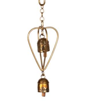 Megha Arts & Crafts Copper Wind Chime MAC174