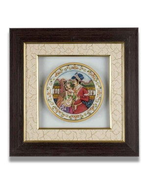 Marble Plate Framed AAG62