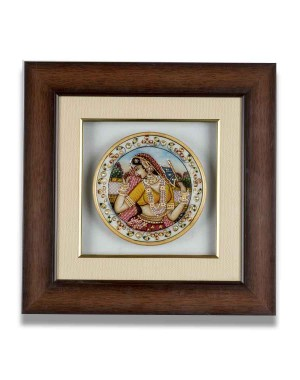 Marble Plate Framed AAG63