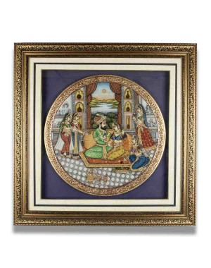 Marble Plate Framed AAG65