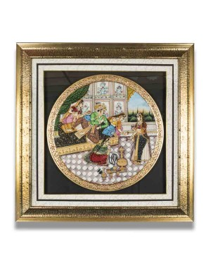 Marble Plate Framed AAG67