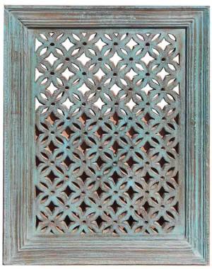 Wood Jali Pannel Colour Finish HAE100
