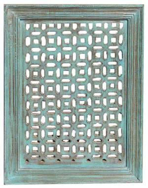 Wood Jali Pannel Colour Finish HAE108