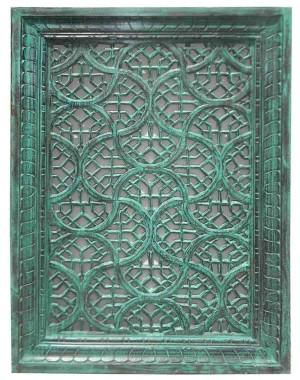 Wood Carved Jali Frame HAE18