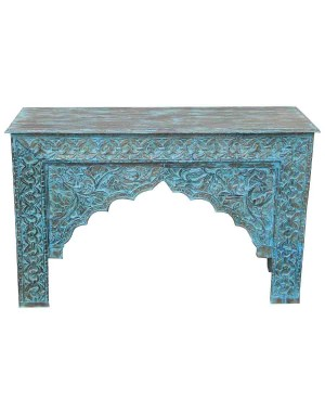 Wood Carved Console Table HAE29