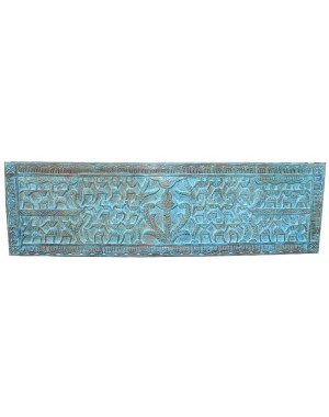 Wood Carved Colour Finish Pannel HAE31