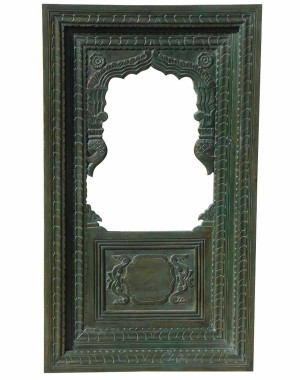 Wood Carved Frame With Mirror HAE78