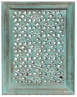 Wood Jali Pannel Colour Finish HAE98