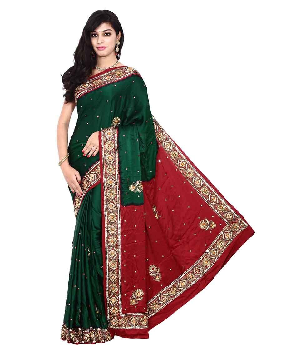 f5fac0dd84 Kala Sansukruti, Buy Sarees Online, Bandhani Sarees - Wishvilla.com ...