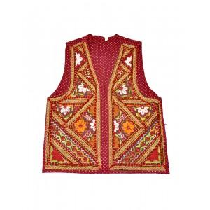 Kutch Qasab Paka Work Embroidered Boys Jacket KQ14