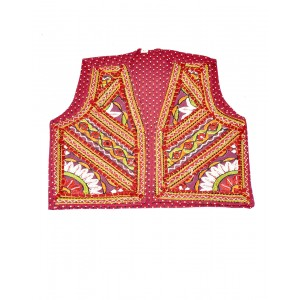 Kutch Qasab Paka Work Embroidered Boys Jacket KQ17