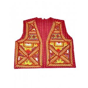 Kutch Qasab Paka Work Embroidered Boys Jacket KQ18