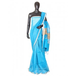 Kolkata Resham Zari Silk KSC562