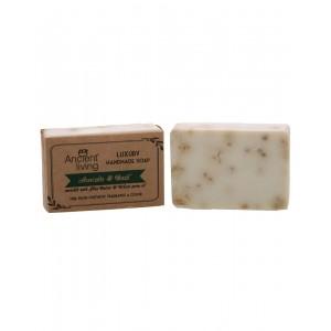 Ancient Living Avacado And Basil Luxury Handmade Soap AL72