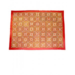 Kutch Qasab Paka Work Double Bed Sheet KQ01