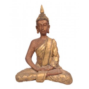 Large Sitting Buddha With Sparkle GS13