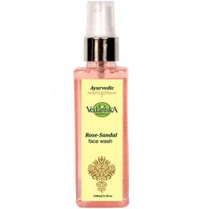 Vedantika Herbals Rose Sandal Face Wash VH164