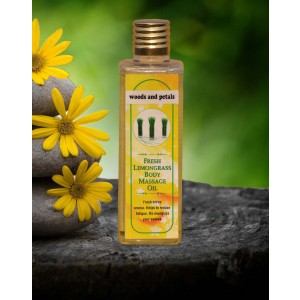 Woods And Petals Lemongrass Body massage oil WP51