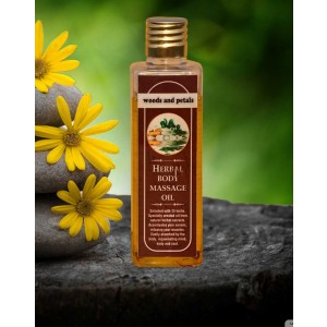 Woods And Petals Herbal Body massage oil WP52