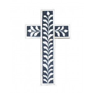 Bone Inlay Cross SAN198