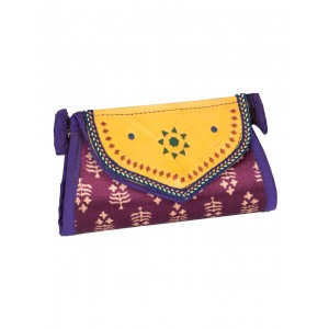 Rakhiyo Mushru Small Flap Clutch RAK42